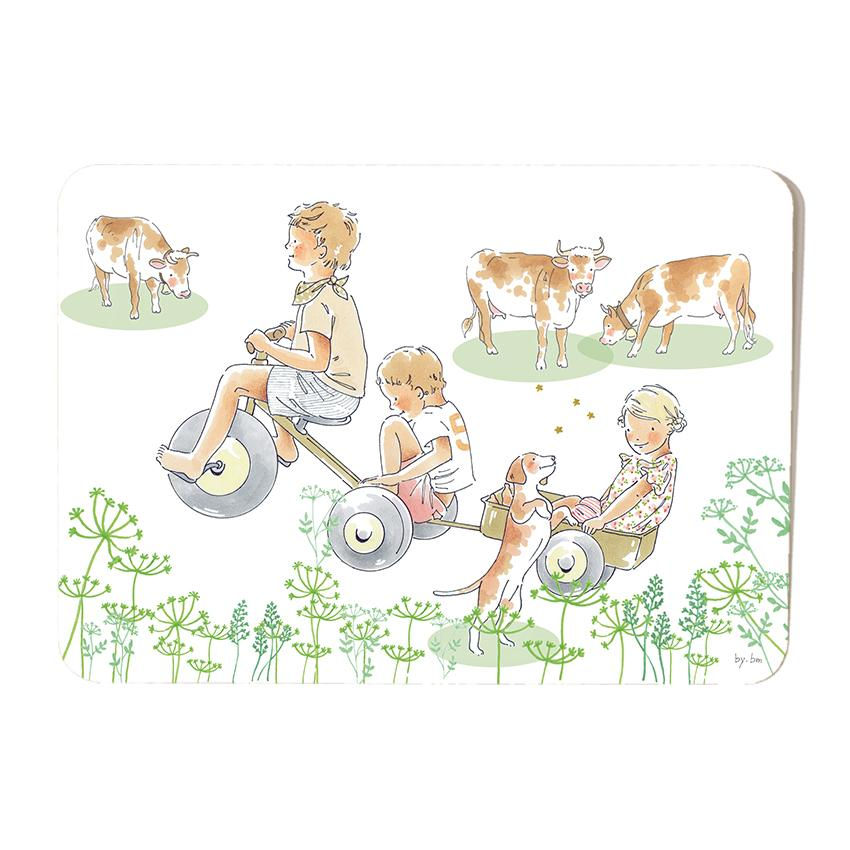 Carte postale Countryside Kids