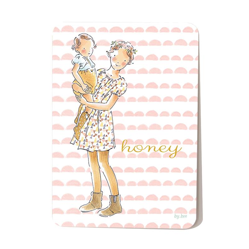 Carte postale Honey